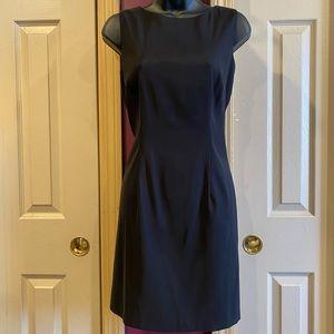Alyx High Neck Black Dress